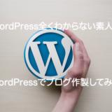 【初心者でも安心】WordPressでブログ作ってみた